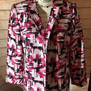 Jones Studio lined blazer with attractive design